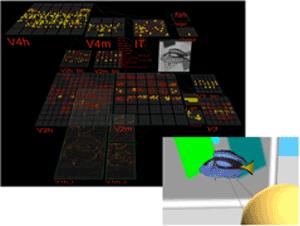 computer simulation graphic