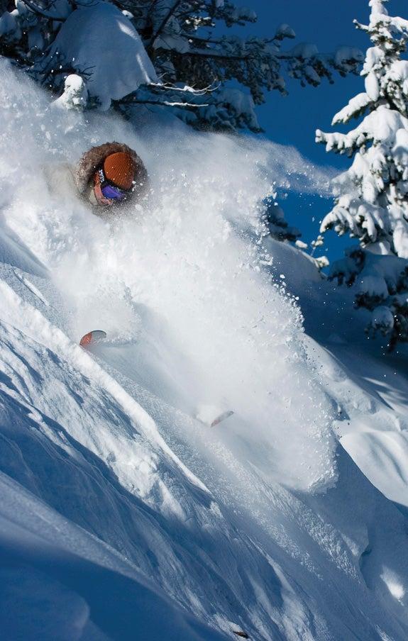 chris anthony skiing