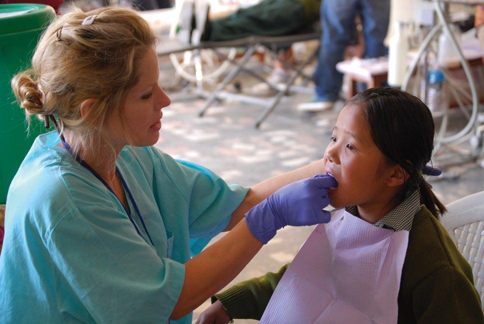 Dental Volunteer Nepal