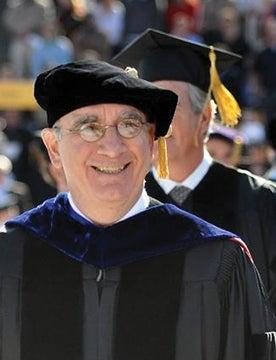 Chancellor Phil Distefano at commencement