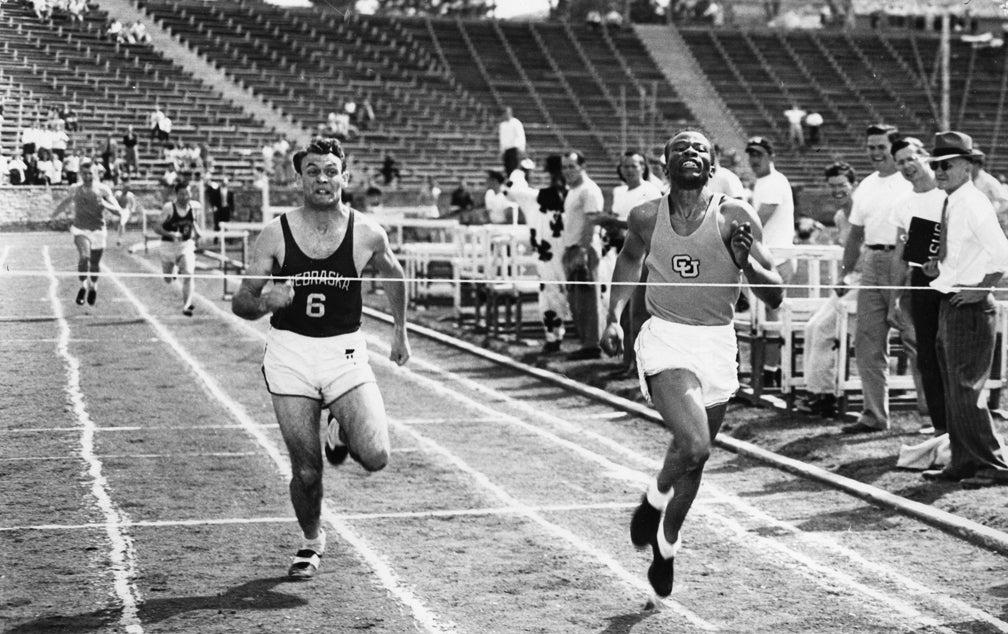 David Bolen running