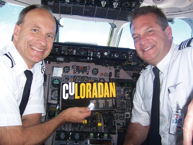 pilots with the coloradan