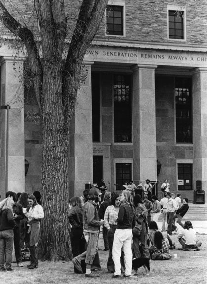 norlin library in the 60s