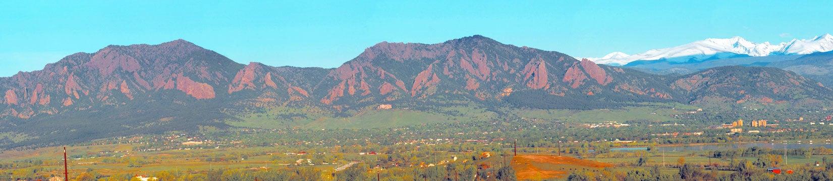 boulder panorama
