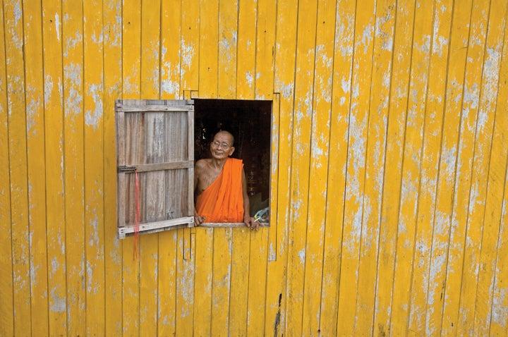 parting shot senior monk