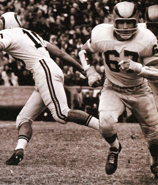 Joe Romig football uniform