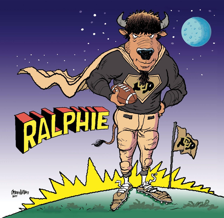 super ralphie illustration