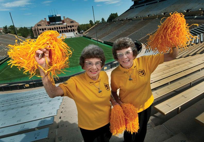 CU Twins in Folsom Field