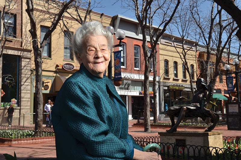 Virginia Patterson on Pearl Street