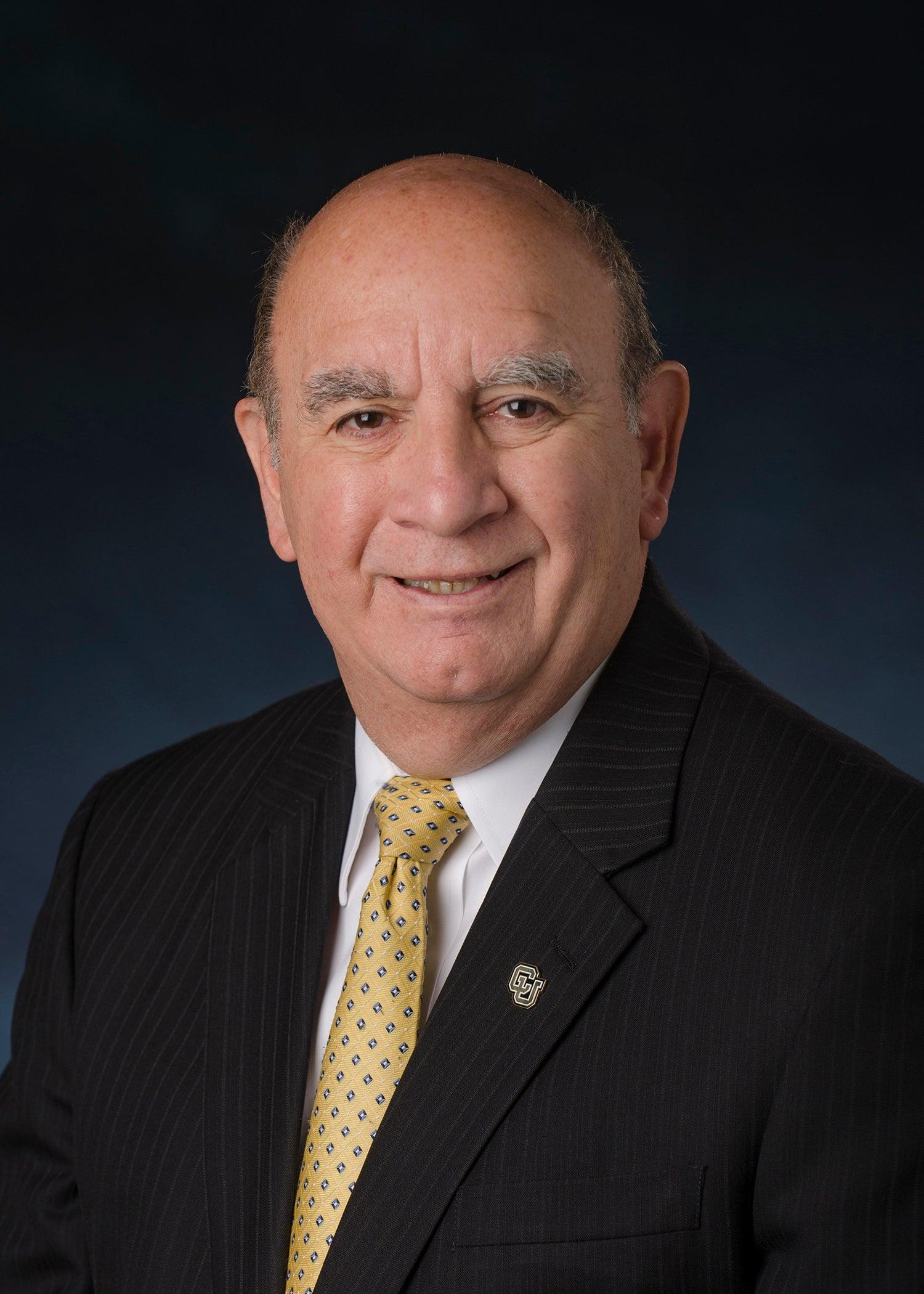 headshot of University of Colorado Boulder chancellor Phillip DiStefano