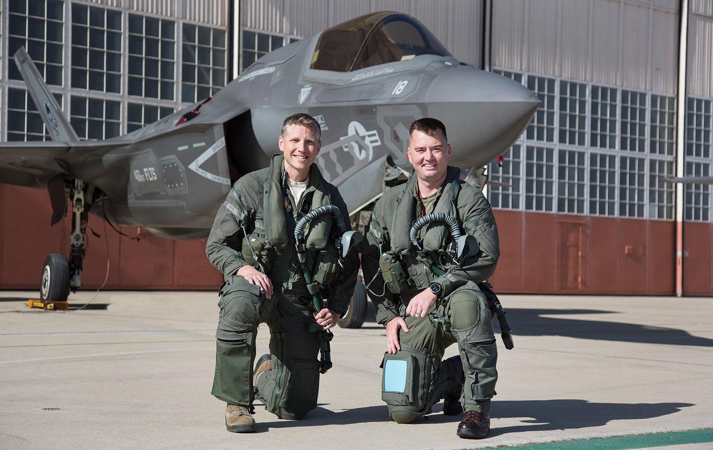 F-35 piltos