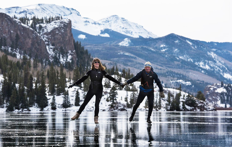 Bruce on Ice