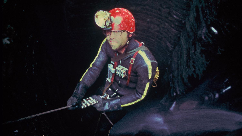 norm pace exploring a cave