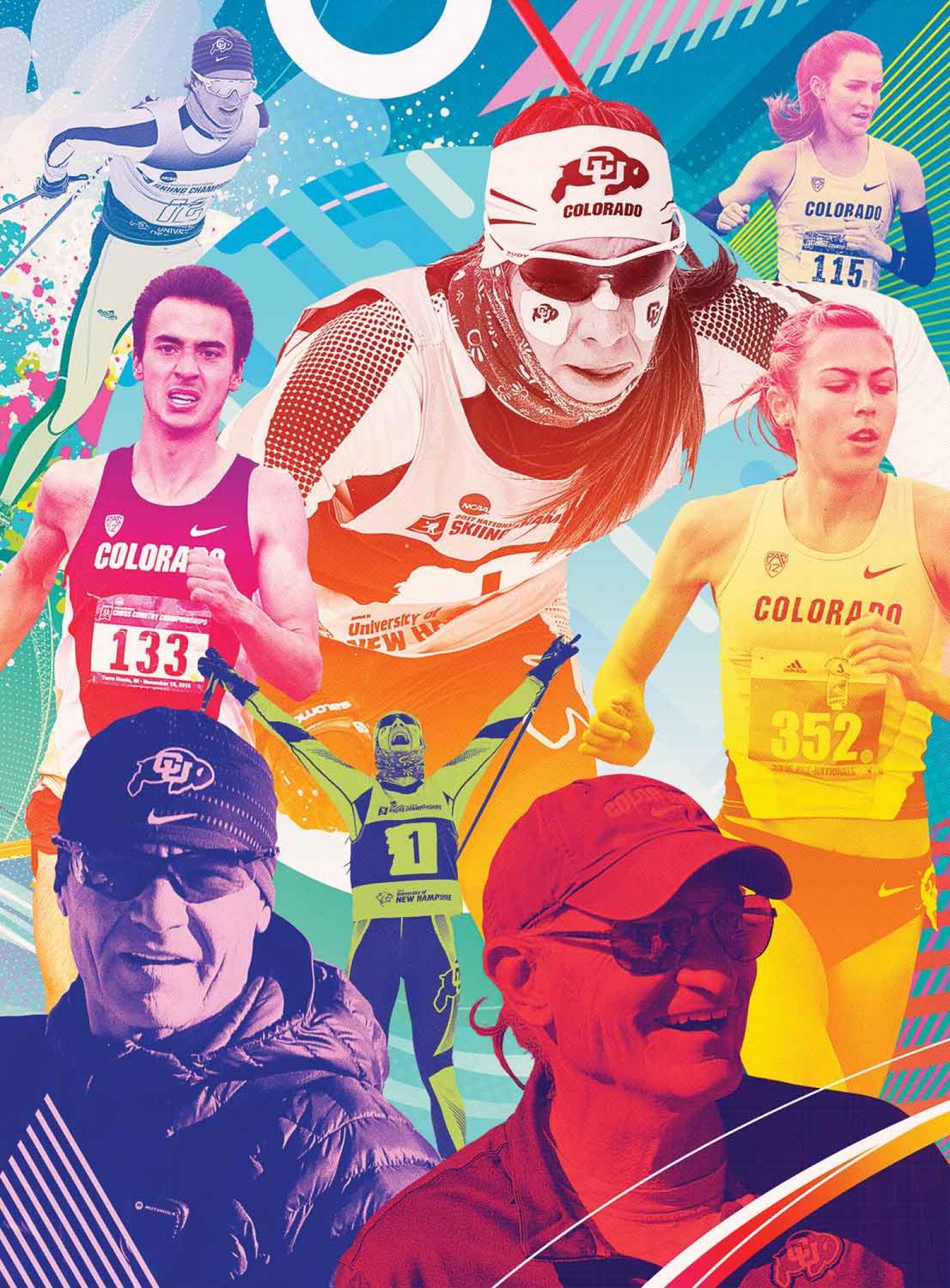 athlete illustration