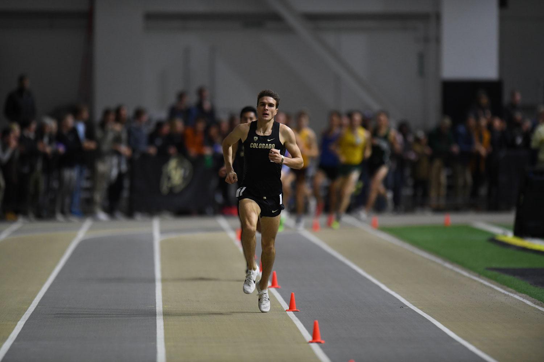 Joe Klecker, CU track and field