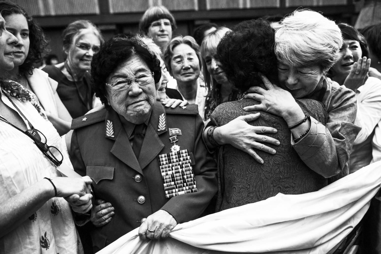 Women cross DMZ