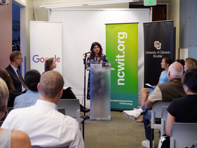 Bhavna speaking for Google