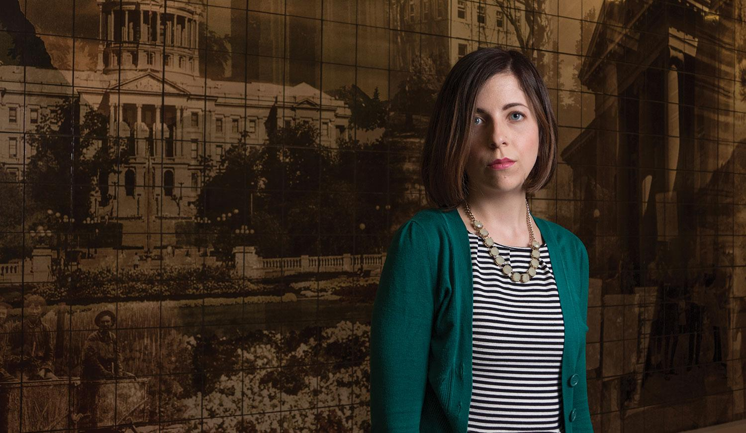 Kate Mattern plans to work as a public defender.
