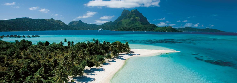 Image of beach in Tahiti