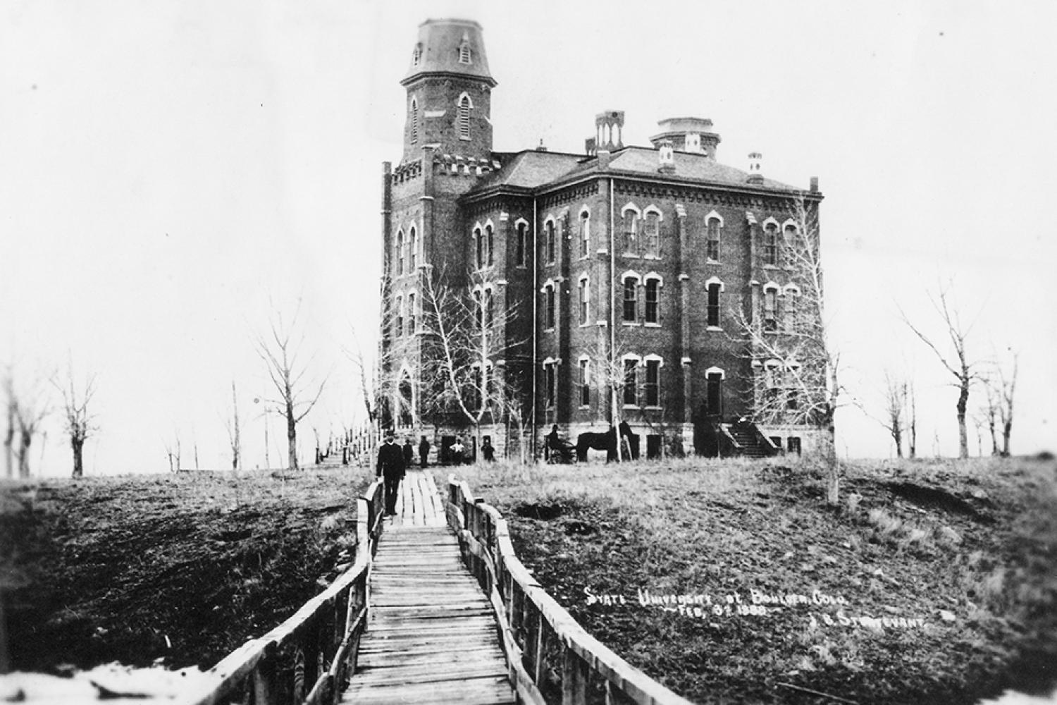 Historical Old Main Photo