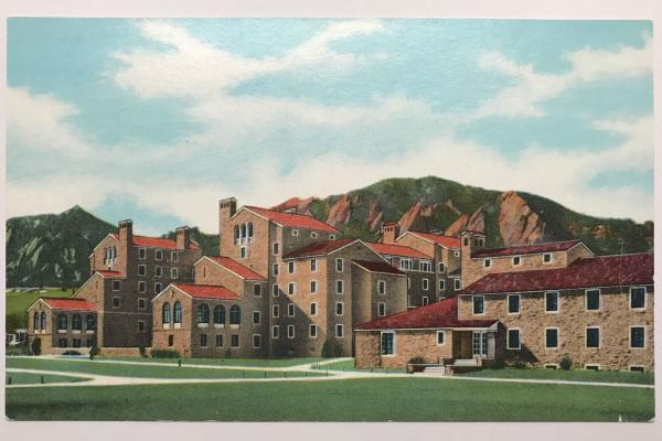 Postcard of Farrand Hall