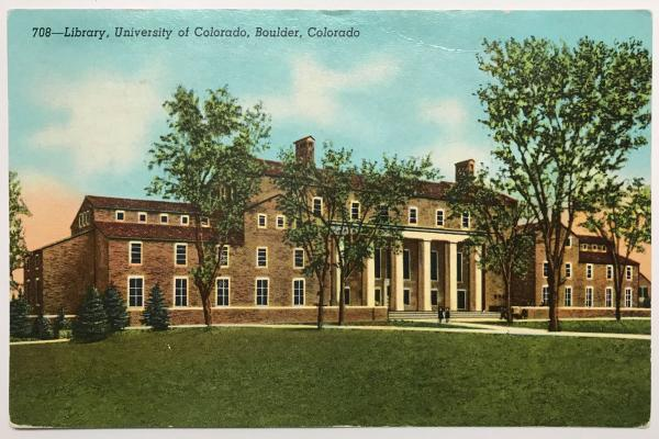 Norlin Library Postcard