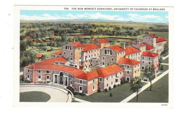 The New Women's Dorm postcard