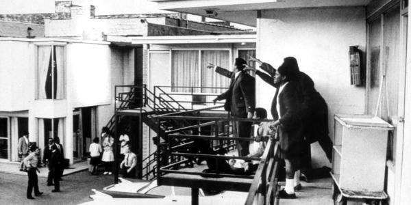 scene of MLK assissination