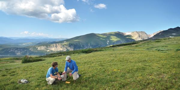 mountain research in the Rocky Mountains