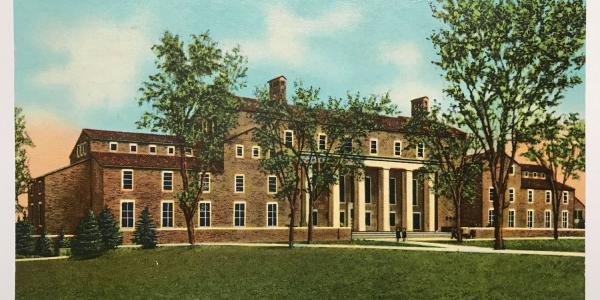 Norlin Postcard 1954