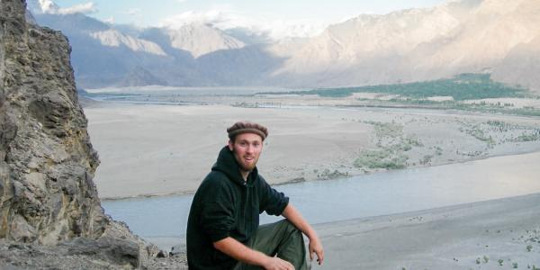 walker in afghanistan
