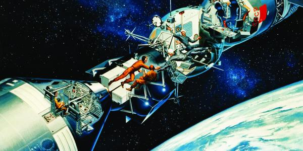 Russo-american space mission