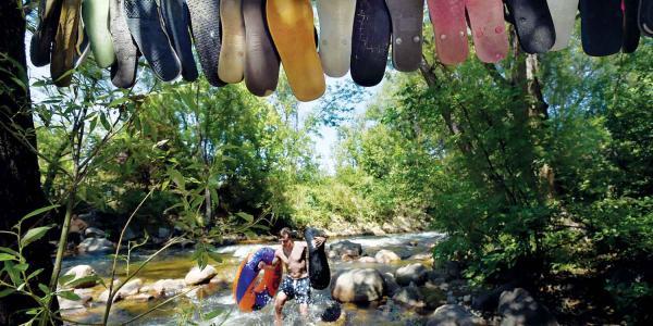 sandal art