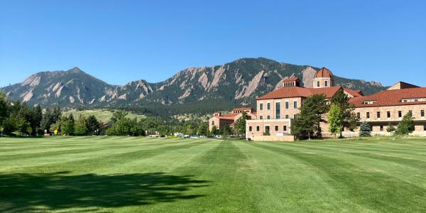 Koebel Building with Flatirons in the background
