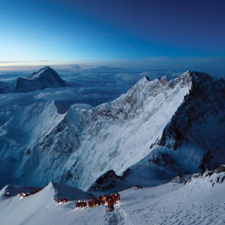 Sumitting Everest