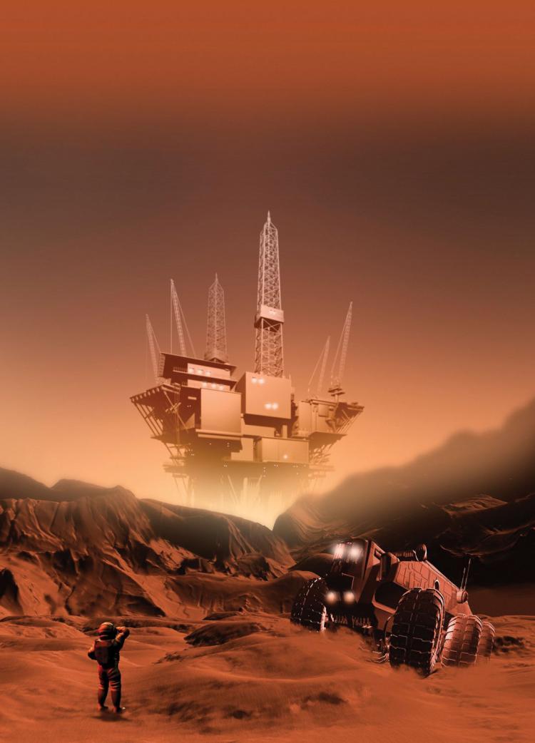 space mining