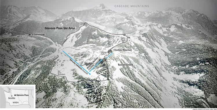 Tunnel creek map