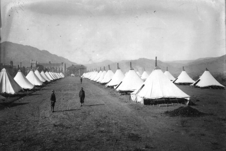 SATC camp at CU Boulder during Spanish Flu