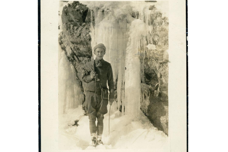 Harold Morsch at Flagstaff Road in 1919