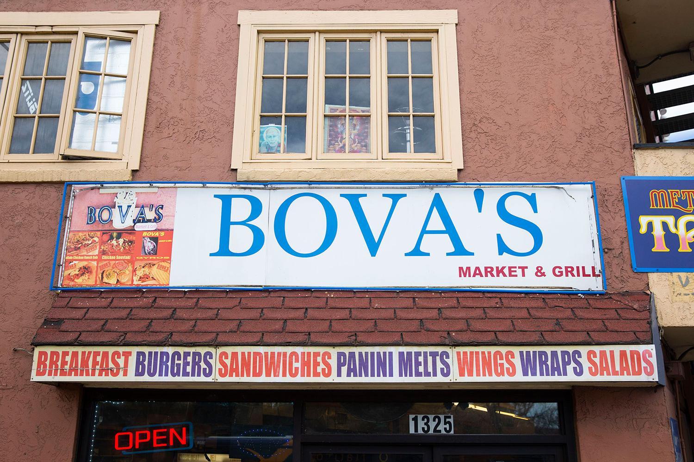 Bova's Sign