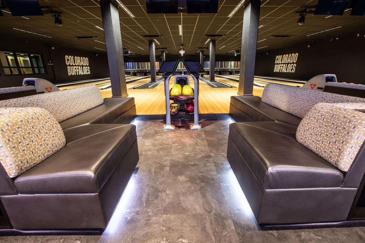 The Connection renovated bowling lanes