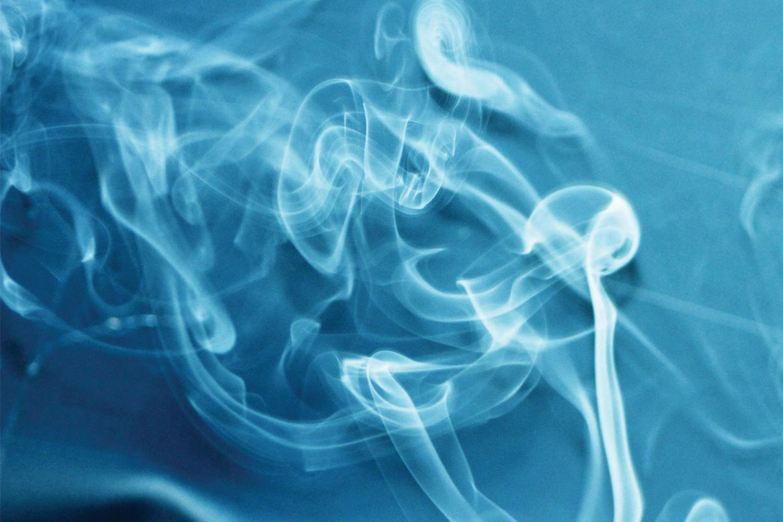 blue smoke flow