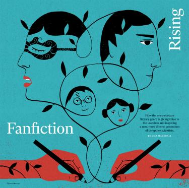 fan fiction spread