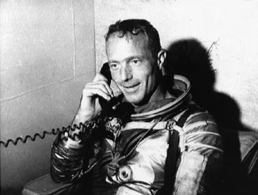 Carpenter on phone with JFK