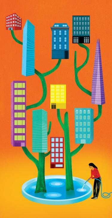 living buildings illustration
