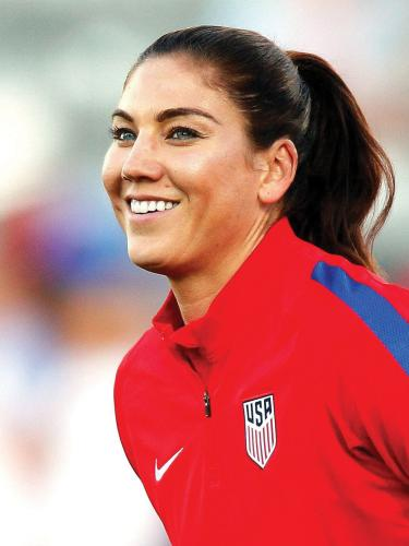 Hope Solo will speak at CU's Conference on World Affairs
