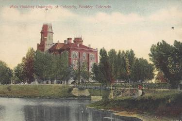 Old Main postcard