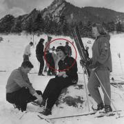Circled skier is Mary Lou Hawkins Franks