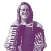accordian player
