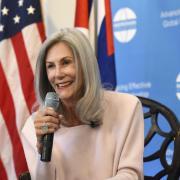 Vicki Huddleston in Cuba